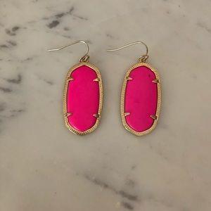 Kendra Scott Jewelry - Kendra Scott Elle Earrings- Hot Pink